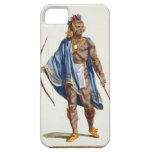 A Noble Indian from the Ottawa Nation, 1780 (colou iPhone 5 Covers