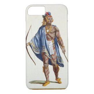 A Noble Indian from the Ottawa Nation, 1780 (colou iPhone 7 Case