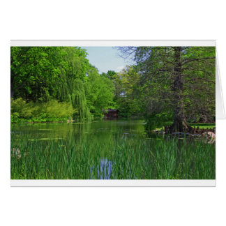 A Noble Lake Afternoon Card