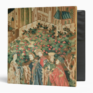 A Nobleman Greeting a Lady with his Servants 3 Ring Binder