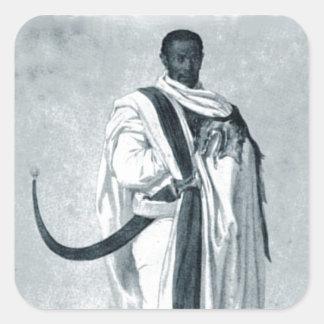 A nobleman of Tigre Square Sticker