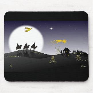 A Noite Santa e os Três Reis Magos Mouse Pad