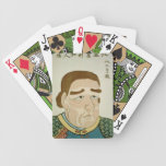 A North American portrait of Perry (Kita Amerika) Bicycle Poker Deck