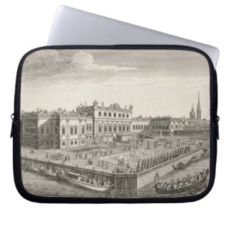 A North West View of the Summer Palace of Her Impe Laptop Computer Sleeves