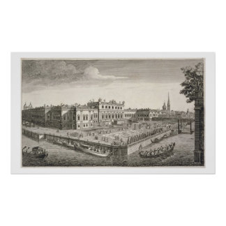 A North West View of the Summer Palace of Her Impe Print