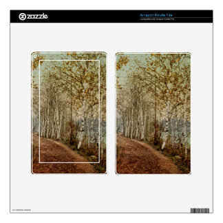 A Northern Autumn 1898 Kindle Fire Decal