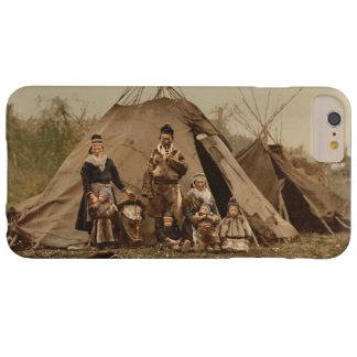 A Norwegian Lapp Family in Norway from 1890 Barely There iPhone 6 Plus Case