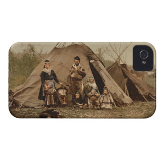 A Norwegian Lapp Family in Norway from 1890 Case-Mate iPhone 4 Case