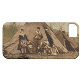 A Norwegian Lapp Family in Norway from 1890 iPhone SE/5/5s Case