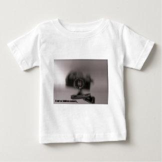 A not so hidden camera infant t-shirt