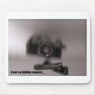 A not so hidden camera mouse pad