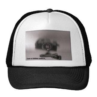 A not so hidden camera trucker hat
