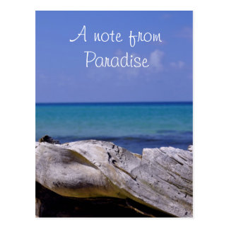 A Note from Paradise Postcards