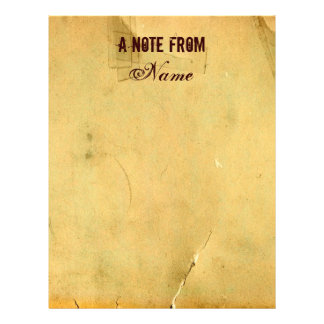 A Note From...Vintage Letterhead Stationery