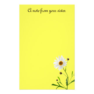 A note from your sister stationery