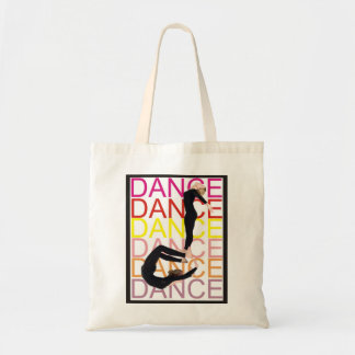 A Note on Dance Budget Tote Bag