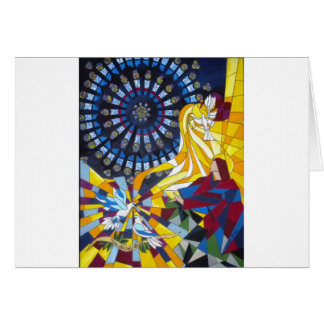 A Notre Dame Cathedral Prayer Greeting Card