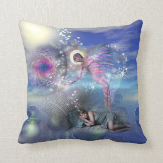 A novel can be a portal into parallel realities throw pillow