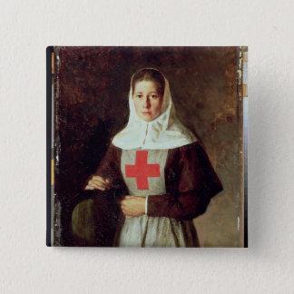 A Nurse, 1886 Button