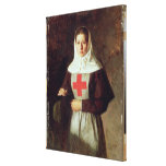 A Nurse, 1886 Gallery Wrapped Canvas