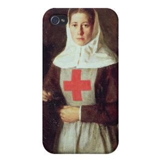 A Nurse, 1886 iPhone 4 Cases