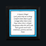 """A Nurse&#39;s Prayer Keepsake Box<br><div class=""""desc"""">A Nurse&#39;s Prayer on a jewelry box</div>"""