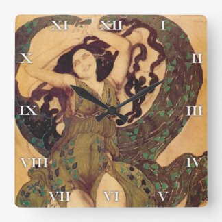 A Nymph, for Ballet Russes by Bakst - Clock