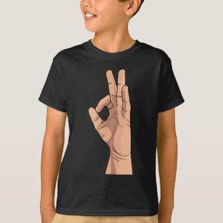 A OK ~ Hand Sign and Gestures a-ok T-Shirt