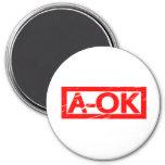 A-OK Stamp Magnet