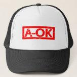 A-OK Stamp Trucker Hat