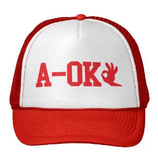 A OK TRUCKER HAT