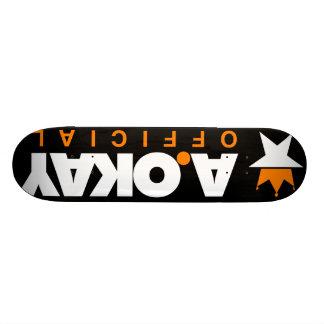 A.Okay Staple Board Skate Deck