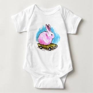 A One Peep Seater Baby Bodysuit