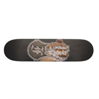 "a onefelix design "" Chain Fist "" Skateboard"