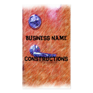 A orange door Double-Sided standard business cards (Pack of 100)