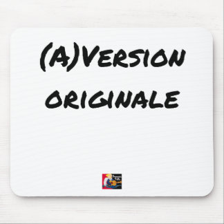 (A) Original version - Word games Mouse Pad