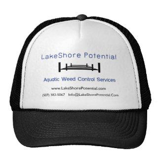 A orillas del lago JPG potencial del logotipo Gorros Bordados