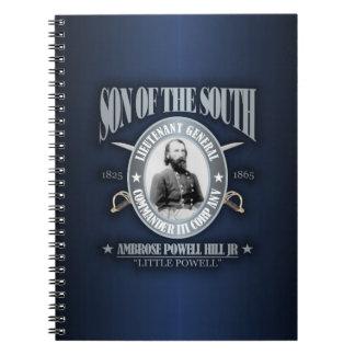 A P Hill (SOTS) silver Notebook