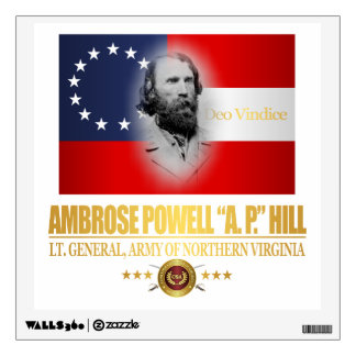A.P. Hill (Southern Patriot) Wall Decal