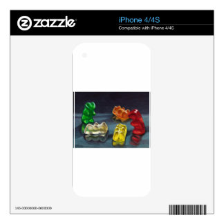 A Pack of Candy Skins For iPhone 4S