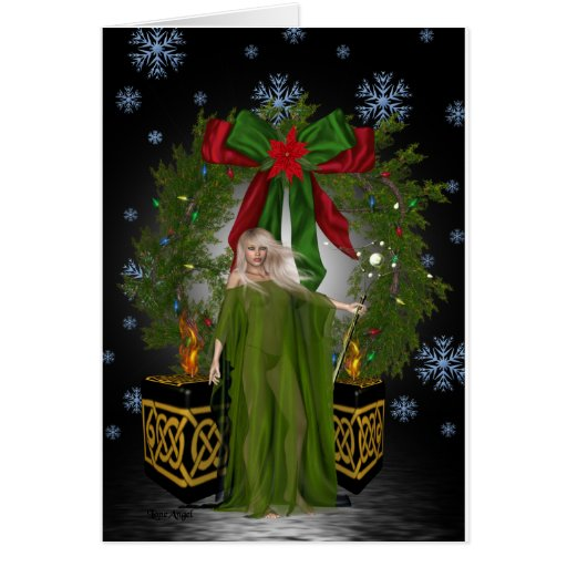A Pagan Christmas Card