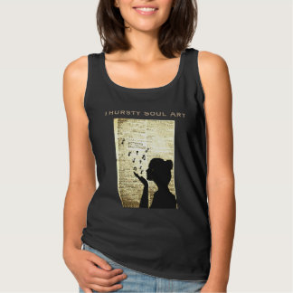 """""""A Page in Time"""" Custom Art Tank Top"""