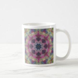 A paint mandala coffee mug
