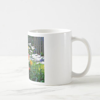 A  Painted Garden Classic White Coffee Mug