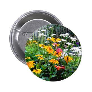 A  Painted Garden Pin