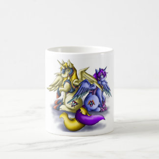A pair of Alicorn Soldiers Classic White Coffee Mug