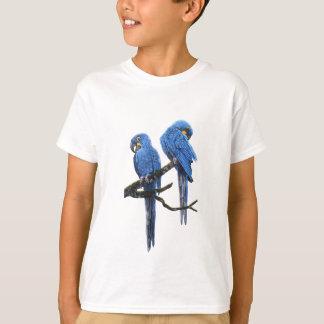 A pair of bright blue Hyacinth Macaws T-Shirt