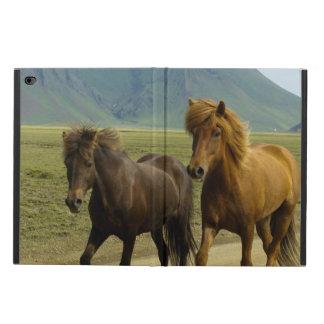 A Pair of Brown Icelandic Ponies Powis iPad Air 2 Case