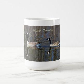 A Pair of Canada Geese Coffee Mug