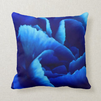 A pair of carnations throw pillow